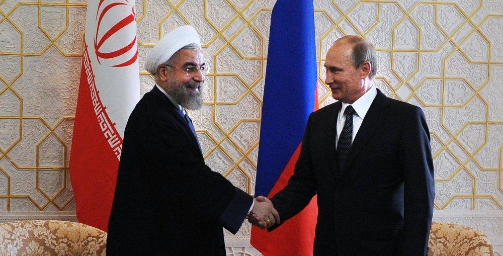 Президент Российской Федерации Владимир Путин встретился с Президентом Ирана Хасаном Рухани
