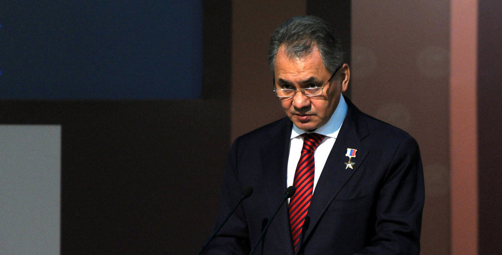 Russian Defence Minister Sergei Shoigu
