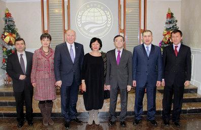 Заседание Совета национальных координаторов ШОС