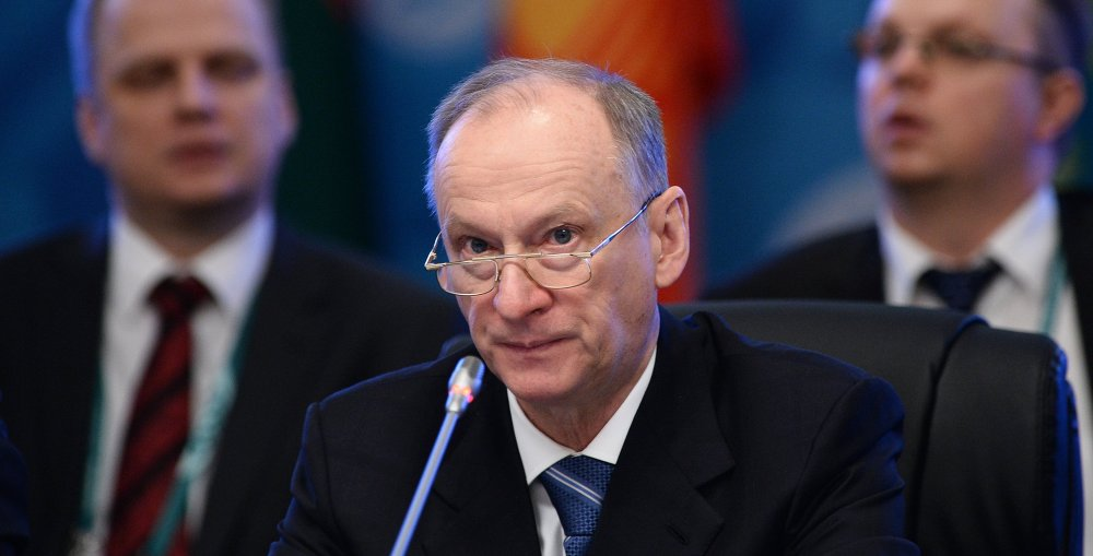 Secretary of the Russian Security Council Nikolai Patrushev at the SCO National Security Council Secretaries Meeting.