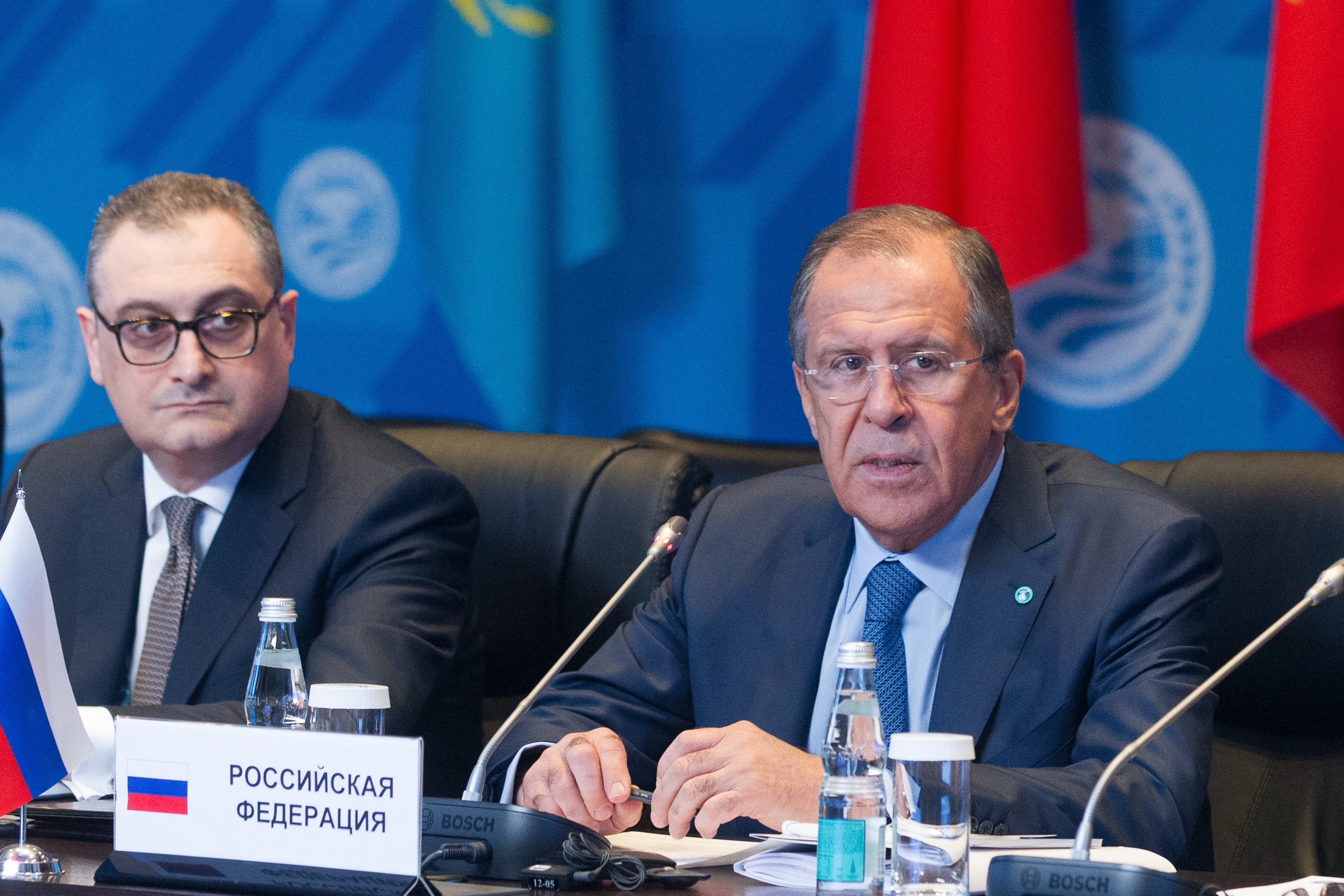 SCO Council of Ministers of Foreign Affairs Meeting