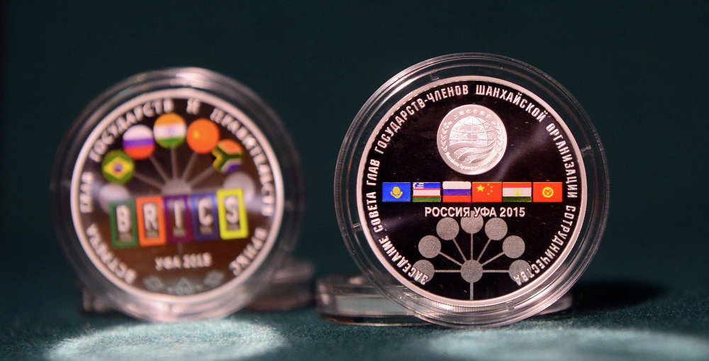 Bank of Russia issues commemorative silver coins for the SCO and BRICS summits in Ufa
