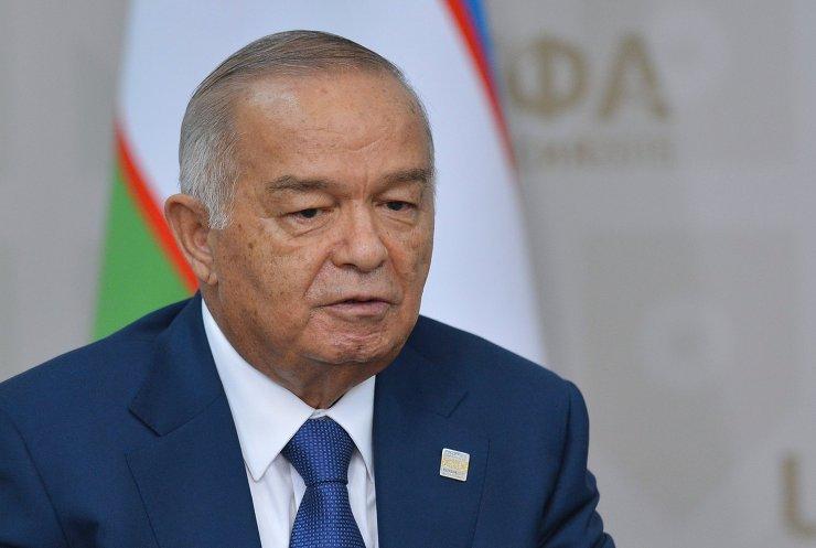 President of the Russian Federation Vladimir Putin meets with President of Uzbekistan Islam Karimov