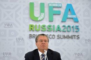 Брифинг Министра экономического развития Российской Федерации Алексея Улюкаева