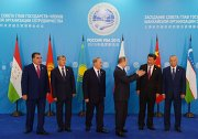 Group photograph of SCO heads of state