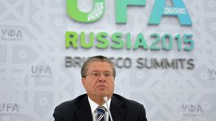 Брифинг Министра экономического развития РФ Алексея Улюкаева_rus