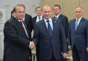 俄罗斯联邦总统普京与巴基斯坦总理谢里夫举行会谈