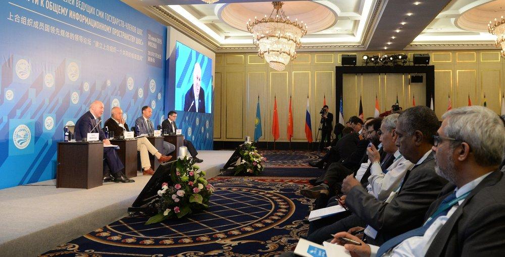 上合组织成员国主流媒体论坛在莫斯科举行